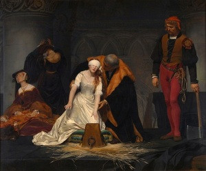Execution of Lady Jane Grey